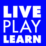 live play learn block logo