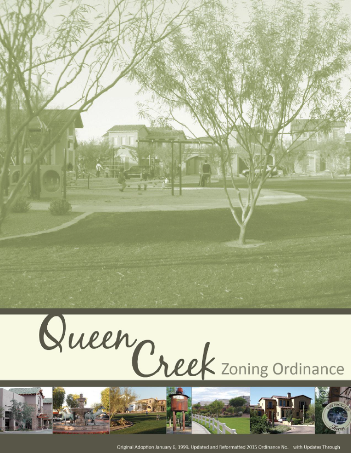 Zoning Ordinance Cover