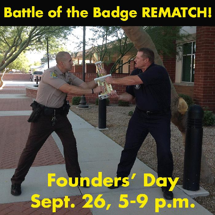 Battle of the Badge Rematch