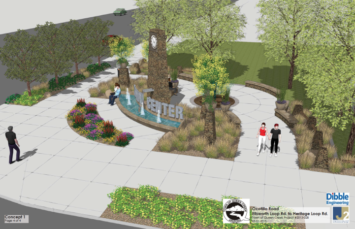 Town Center Pocket Park 4