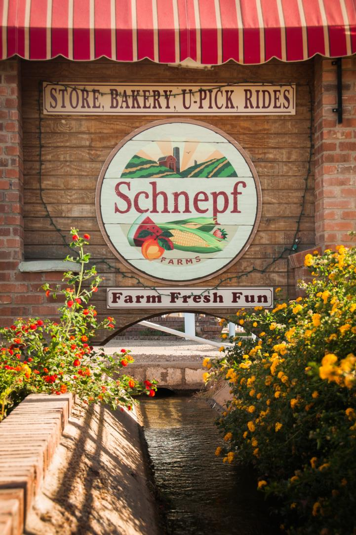 Schnepf Farms Sign