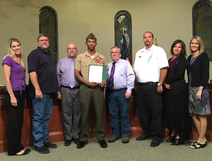 The Town of Queen Creek Recognizes Red Ribbon Week
