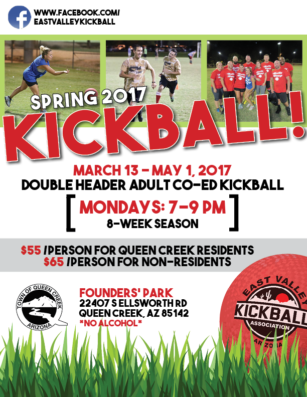Celebrate Spring with Kickball in Queen Creek
