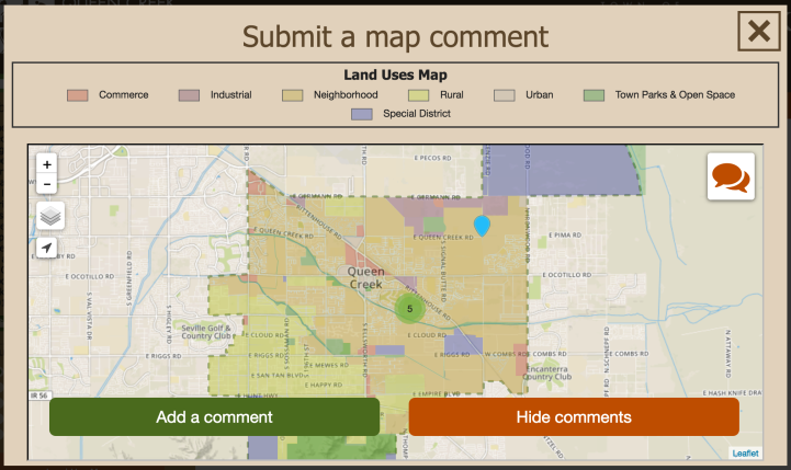 Queen Creek Seeks Community Input on Draft Land Use Map