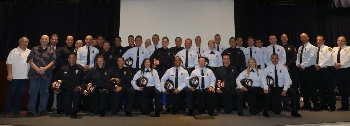 Queen Creek Fire and Medical Welcomes Fourteen New Firefighters