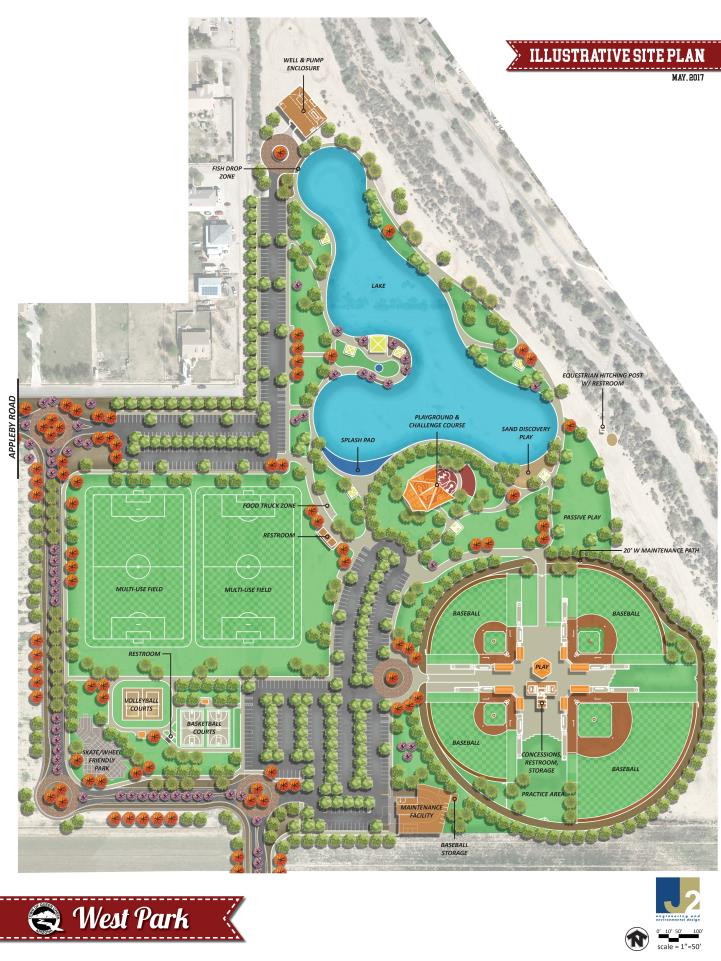 West Park Site Plan May 2017