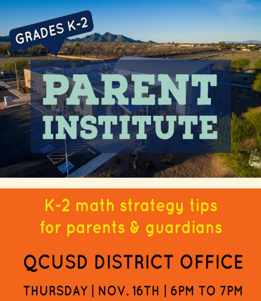 QCUSD Parent Institute