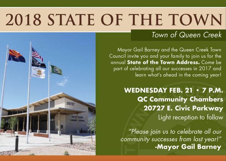 State of the Town Invite