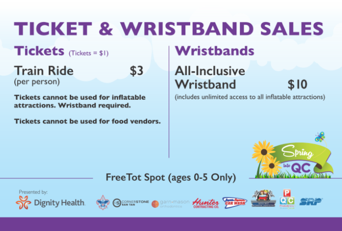SIQC18 - Tickets and Wristbands