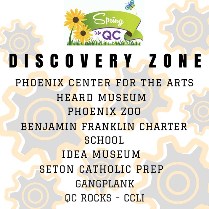 SIQC Discovery Zone Graphic
