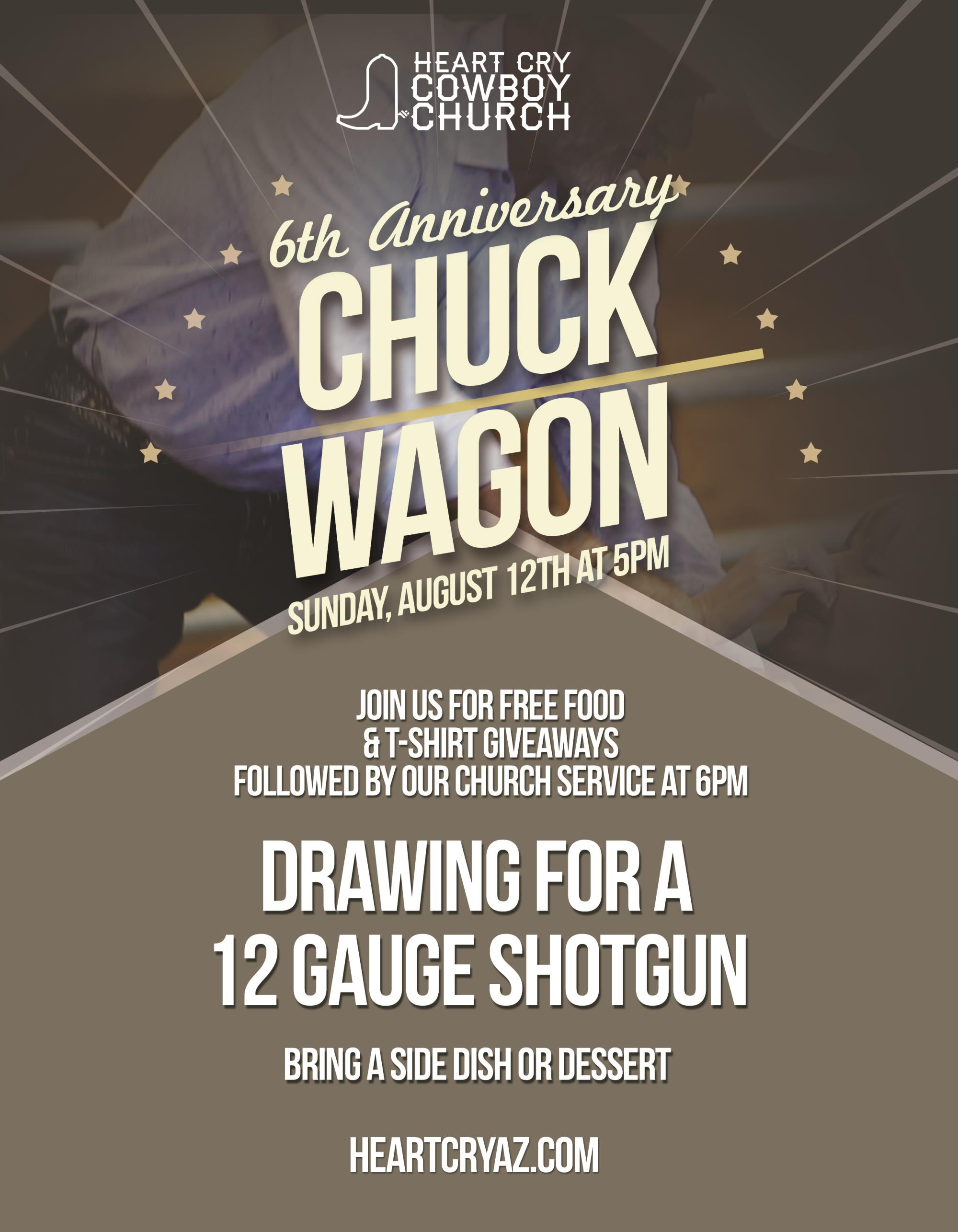 Aug 12 Chuckwagon