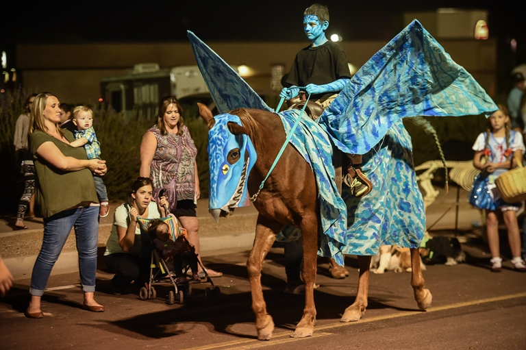 Calling All Horses, Dogs and Critters to Queen Creek's Pet Costume Contest at Trunk or Treat on Oct. 20
