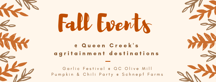 Fall Agritainment Events