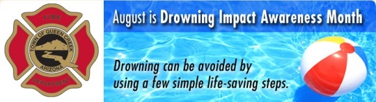 Drowning Prevention Month banner