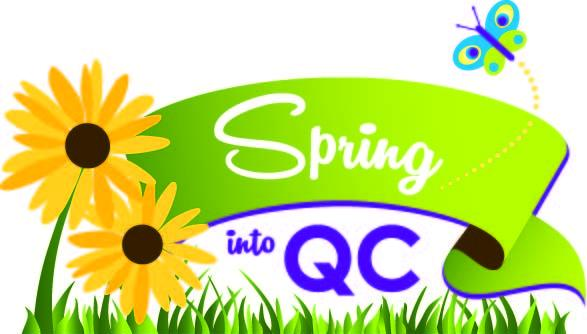 Spring into QC Logo