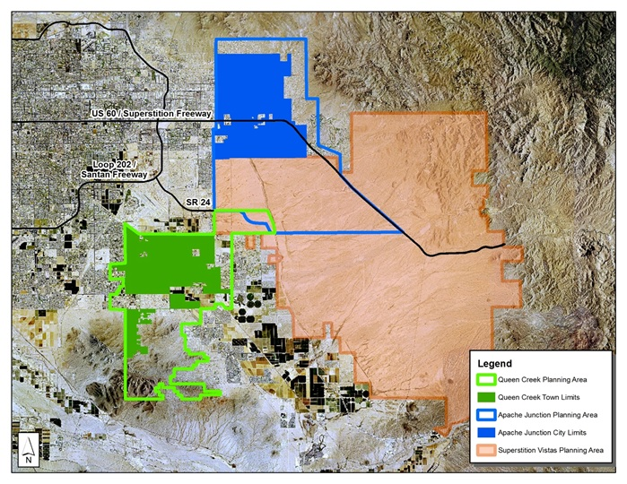City of Apache Junction, Town of Queen Creek Pledge to Work