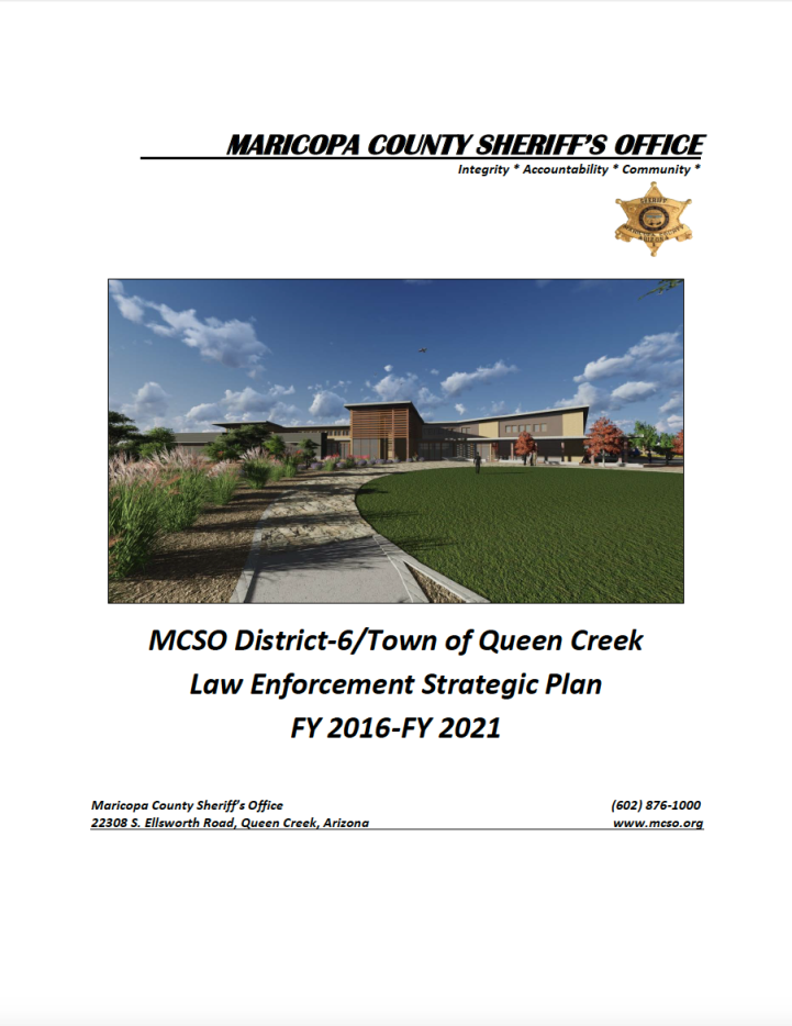 MCSO Strategic Plan