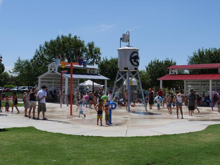 Splash pad overview
