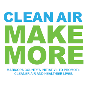 Clean Air Make More Logo