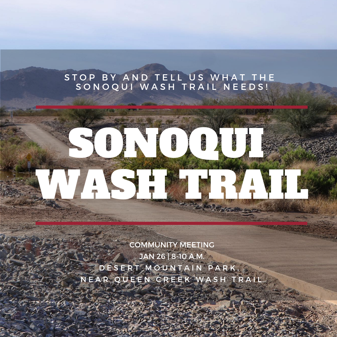 Provide Input on the Sonoqui Wash Trail Design