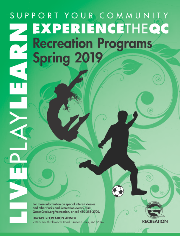 Spring 2019 Brochure Cover