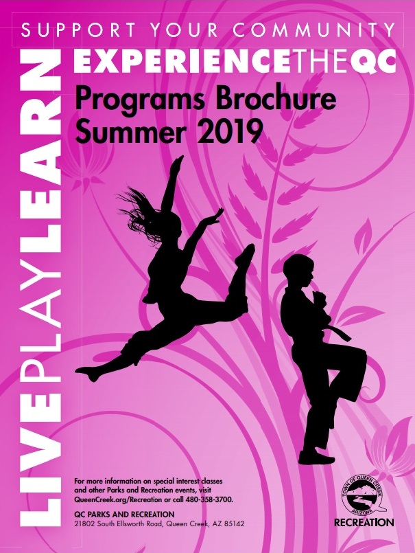 Summer 2019 brochure cover