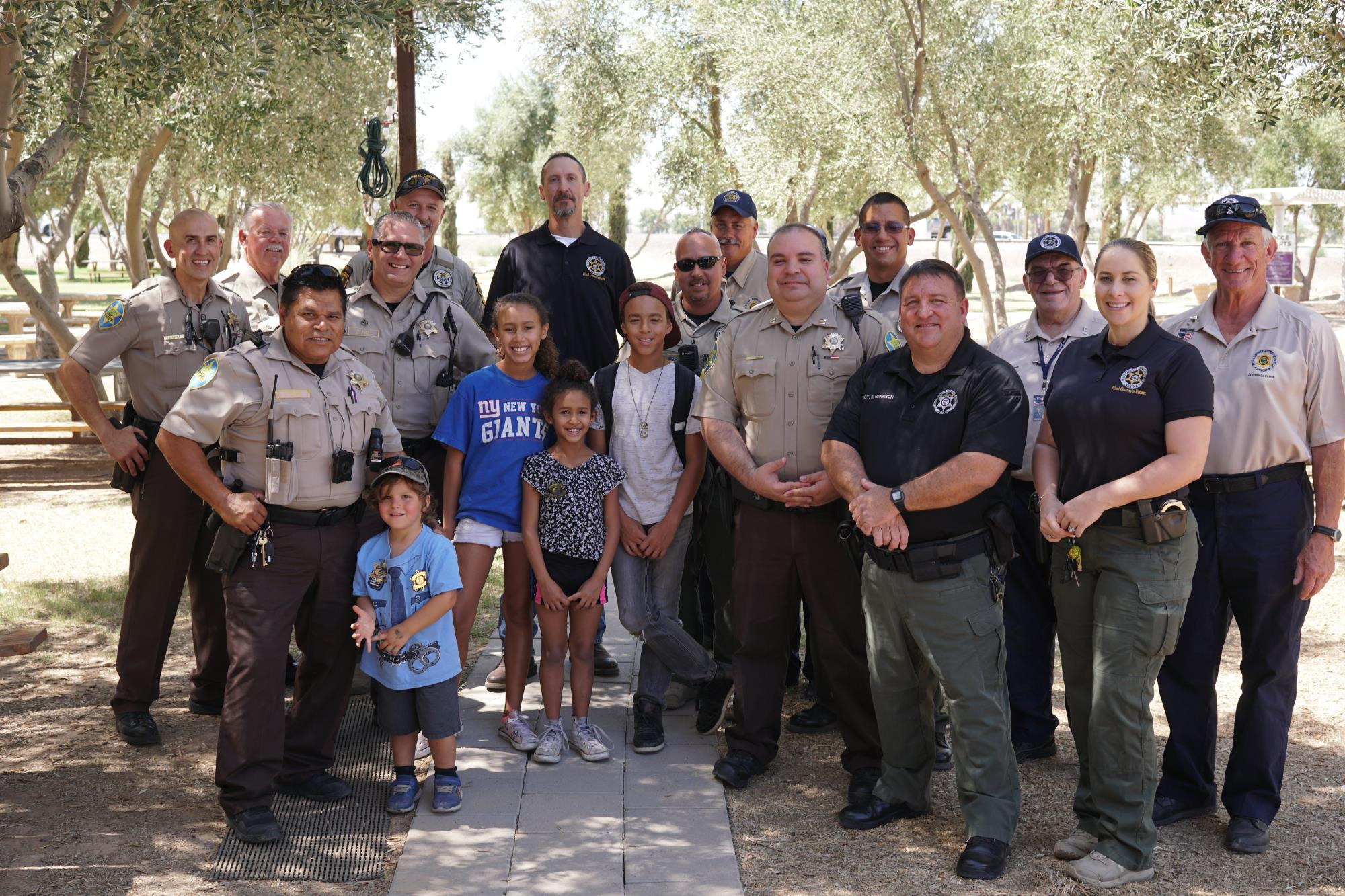 The Town of Queen Creek Celebrates Local Law Enforcement
