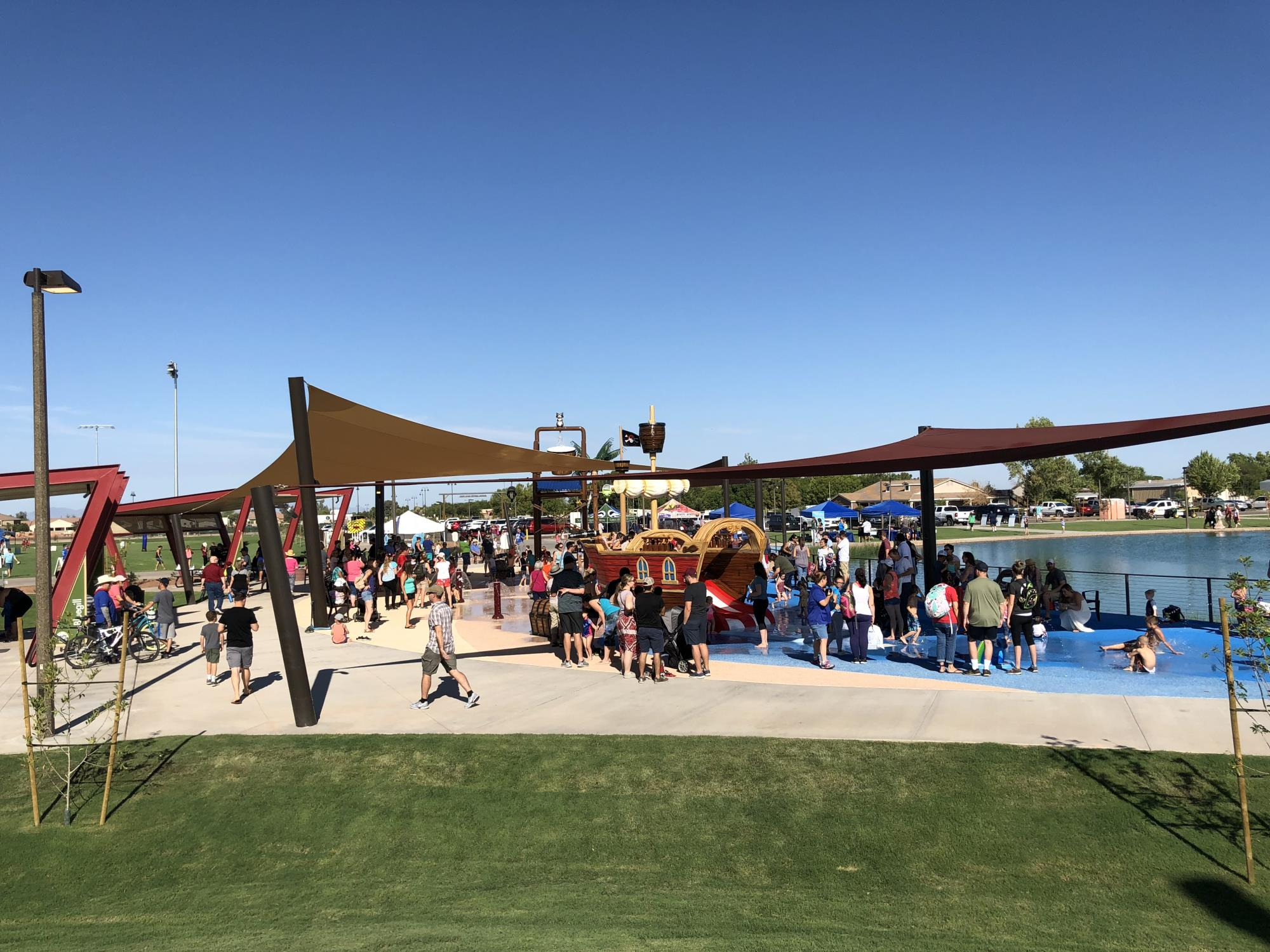 website splash pad picture