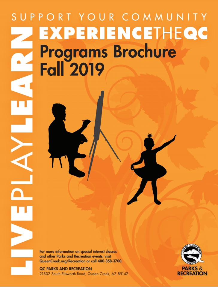 Fall 2019 Brochure Cover