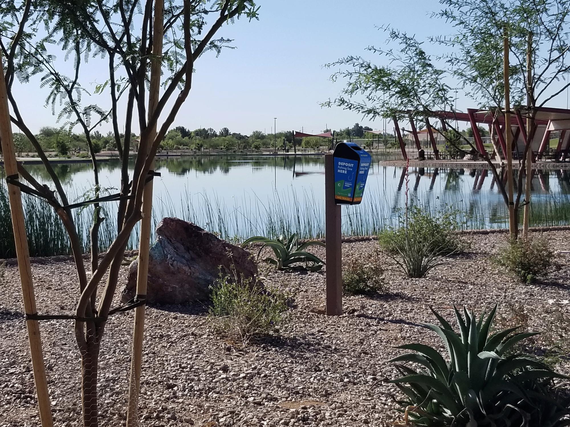 Lake at Mansel Carter Oasis Park | Queen Creek, AZ