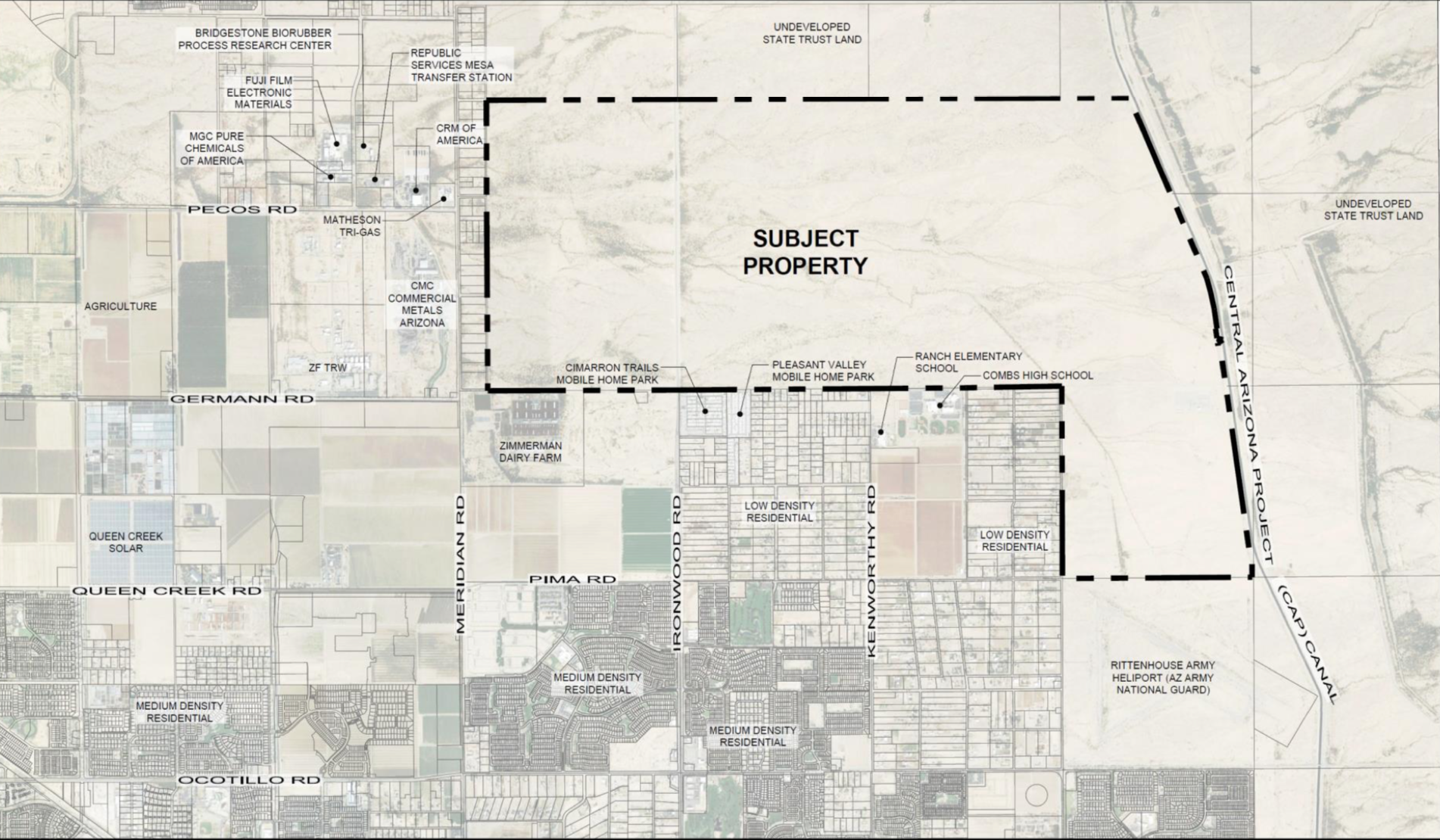 Queen Creek Town Council Approves State Land Annexation