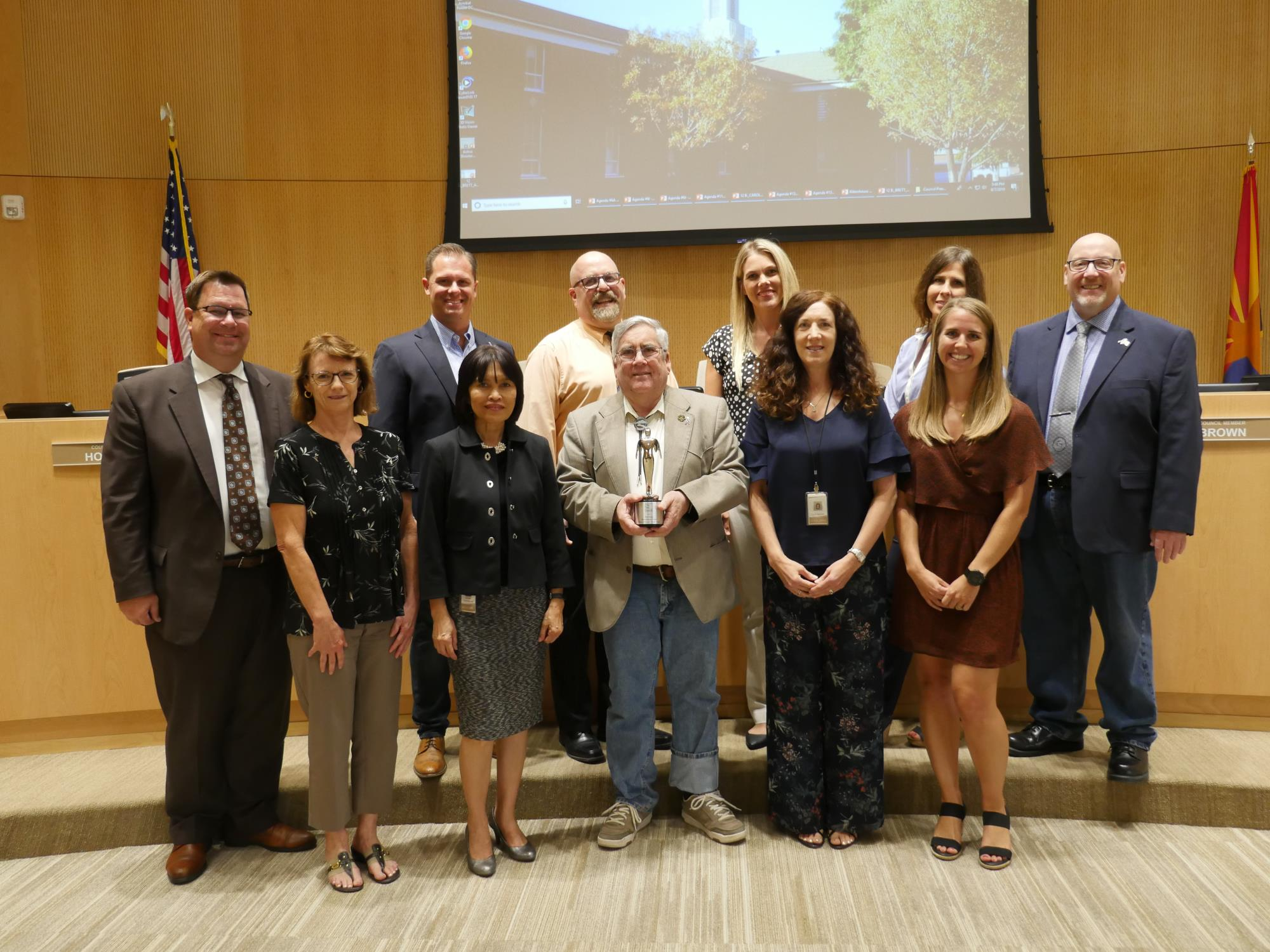 Town of Queen Creek Receives the Silver Telly Award