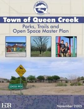 Parks, Trails & Open Space Master Plan cover page