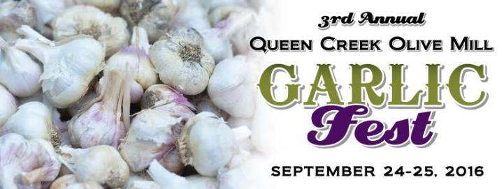 Olive Mill Garlic Fest